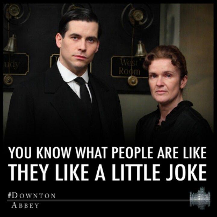 Until The Joke Is On Them Downton Abbey Thomas Downton Abbey Downton Abbey Quotes