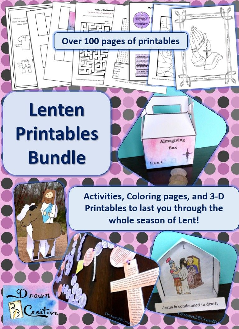 40 Days Of Free Lenten Printables The Last Set Stations Cross Grottos
