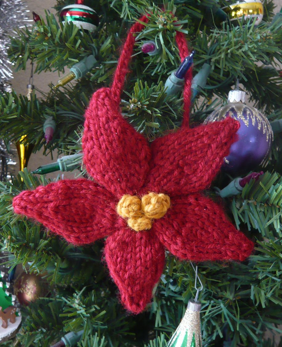 Holiday Ornament Knitting Patterns In The Loop Knitting Christmas Ornament Pattern Christmas Knitting Patterns Free Knit Christmas Ornaments
