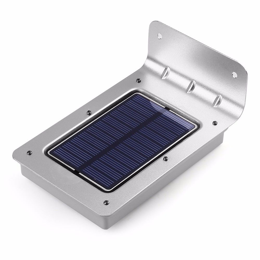 جديد 16 Led الشمسية ضوء الجدار مصباح البير استشعار الحركة أدى الشمسية مصباح حديقة ضوء ما Motion Lights Outdoor Solar Motion Lights Motion Sensor Lights Outdoor