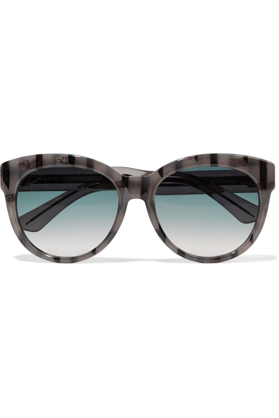 06d4202899f GUCCI Cat-eye acetate sunglasses.  gucci