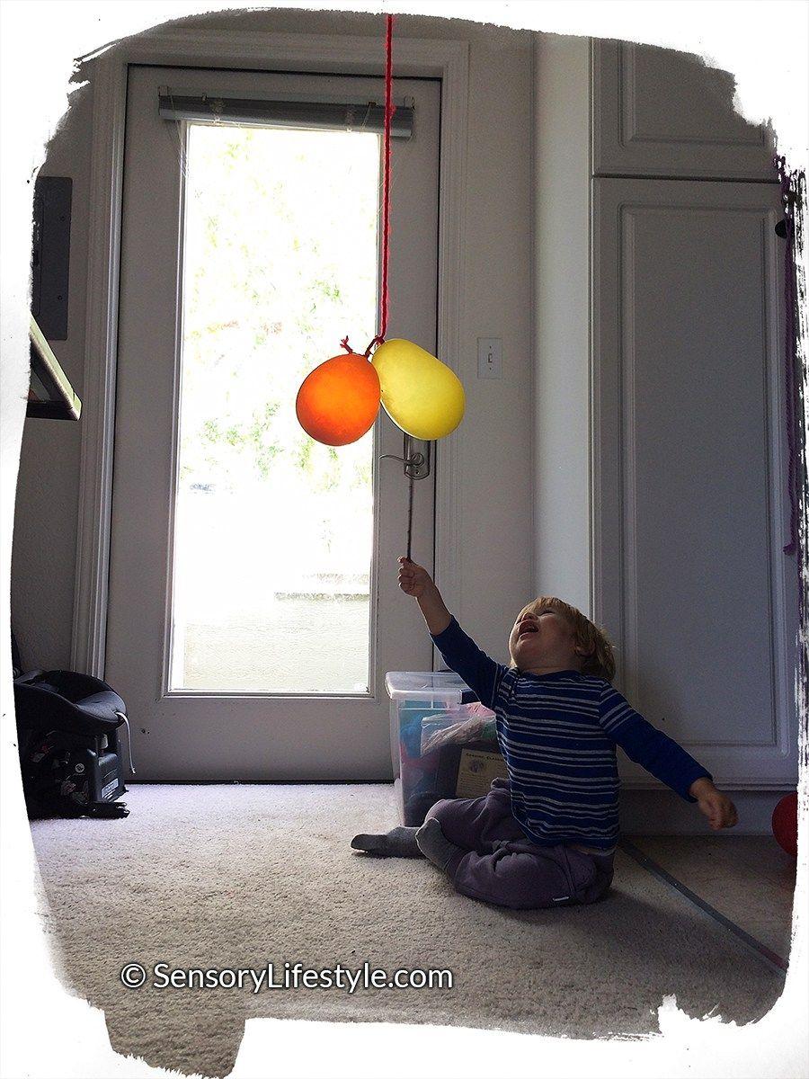 Suspended balloon