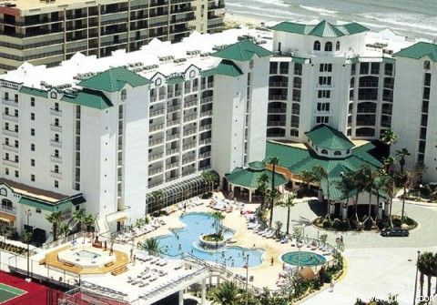 Cocoa Beach Resort We Stayed Here When I Worked For Rci