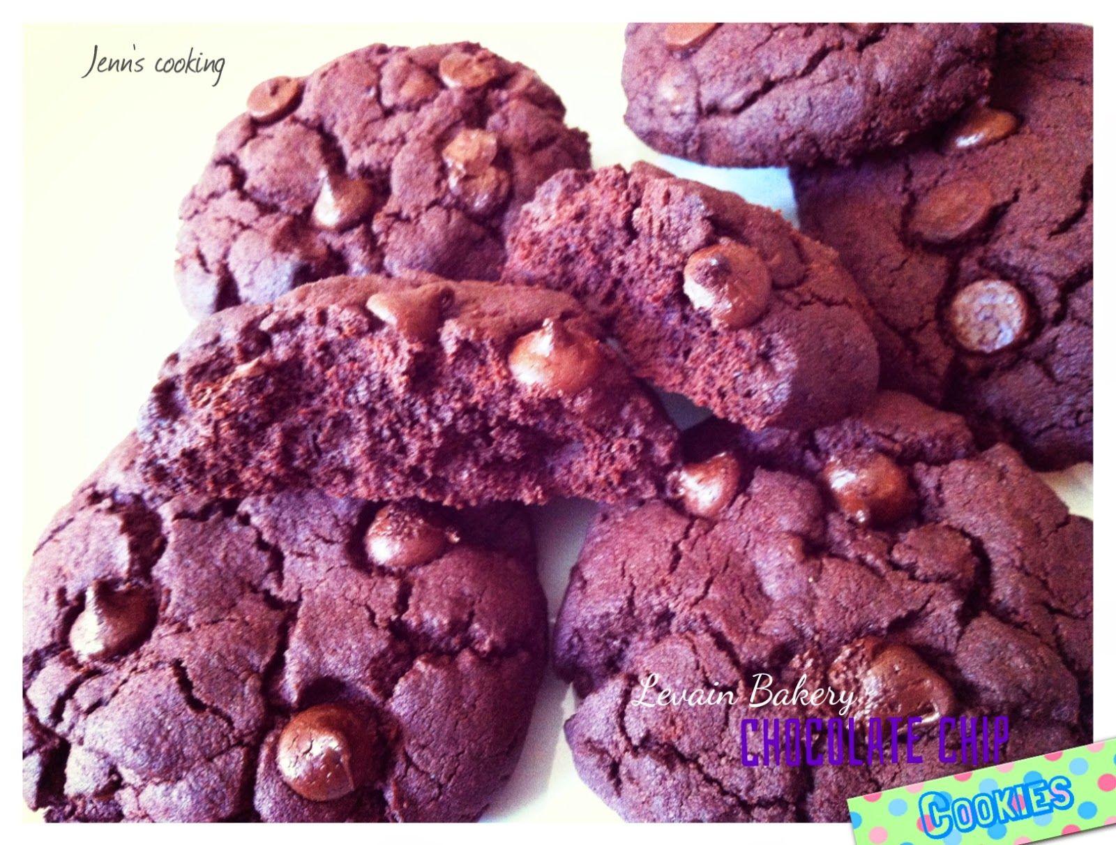 Jenn's cooking: Cookies au Chocolat Façon Levain Bakery
