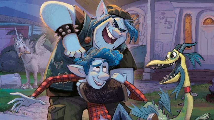 Pixar Onward HD wallpapers
