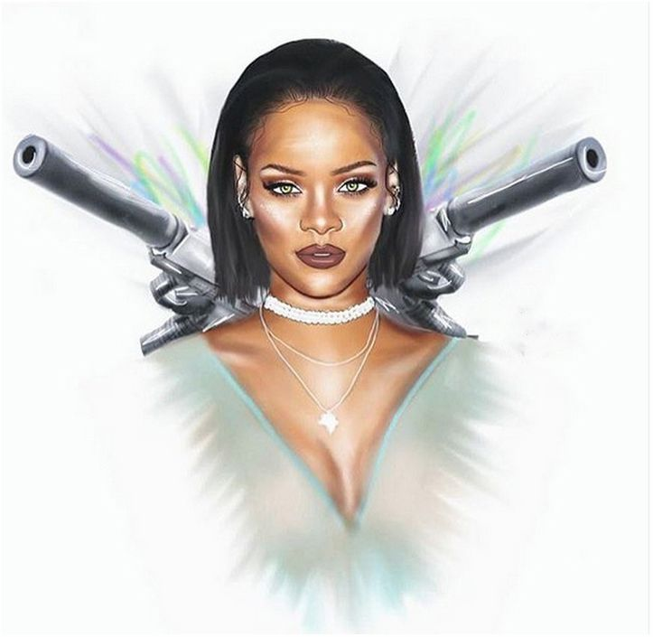 Rihanna Drawing... Riridrawings Pinterest Follow me