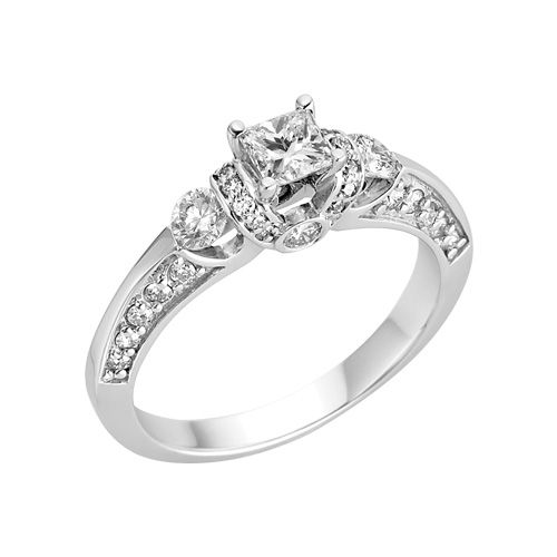 Littman Jewelers 1 ct tw Diamond Engagement Ring But this love