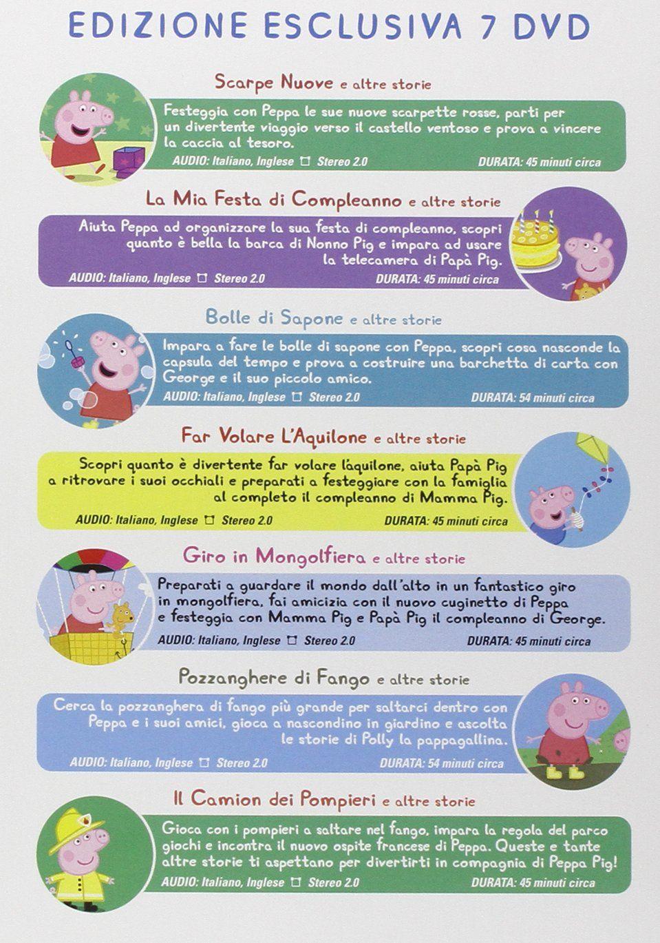 Peppa Pig Boxset Peppa Pig Boxset Peppa Pig Caccia Al Tesoro Festa Di Compleanno