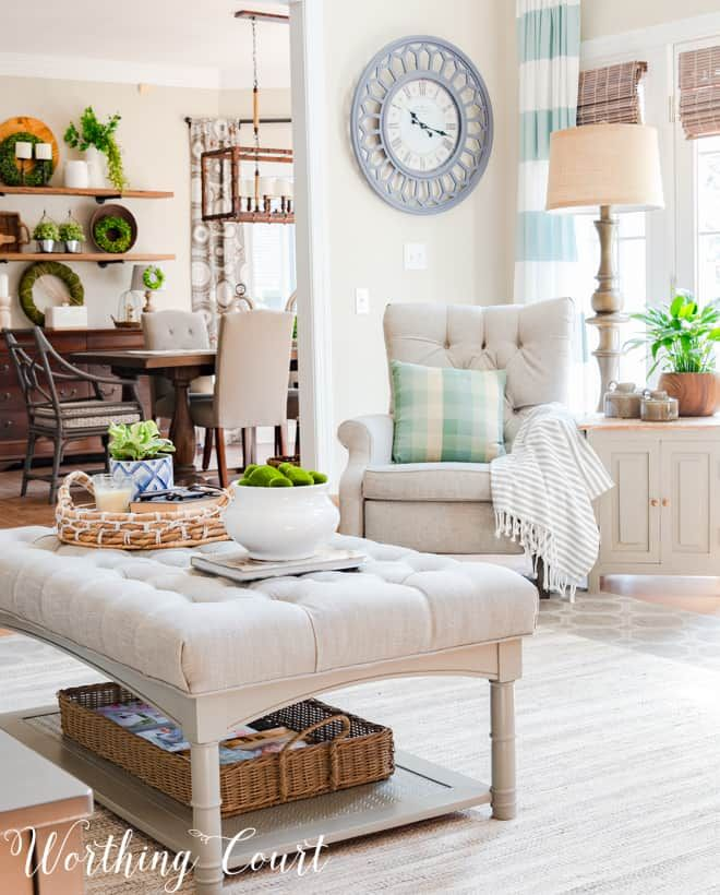 Family Room Makeover Reveal Just In Time For Spring images
