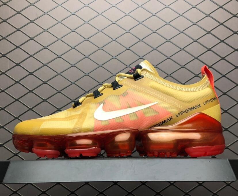"Nike Air VaporMax 2019 ""Crimson Gold"