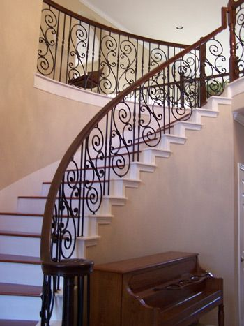 Star iron houston services staircase fences gates for Indoor fence design