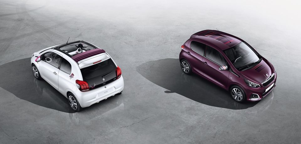Anpassning Nya Peugeot 108 Peugeot City Car Car