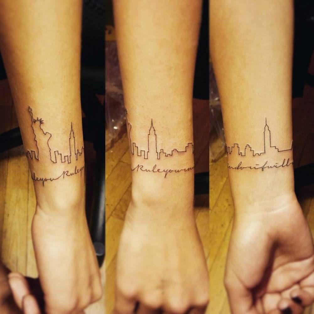 A If I Ever Get Brave Tattoos Skyline Tattoo Nyc Tattoo