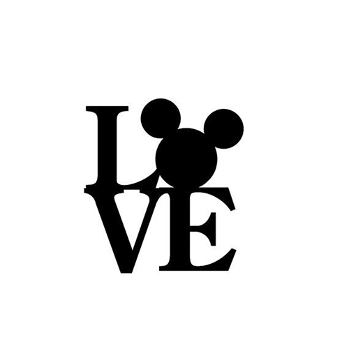 Disney Love Die Cut Vinyl Decal PV Crafty Ideas Pinterest - Die cut window decals
