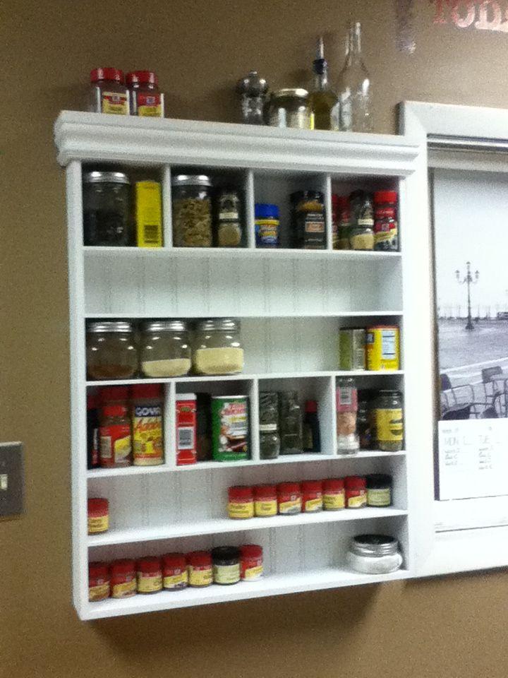 spice organization turn an old medicine cabinet into a spice rack rh pinterest com