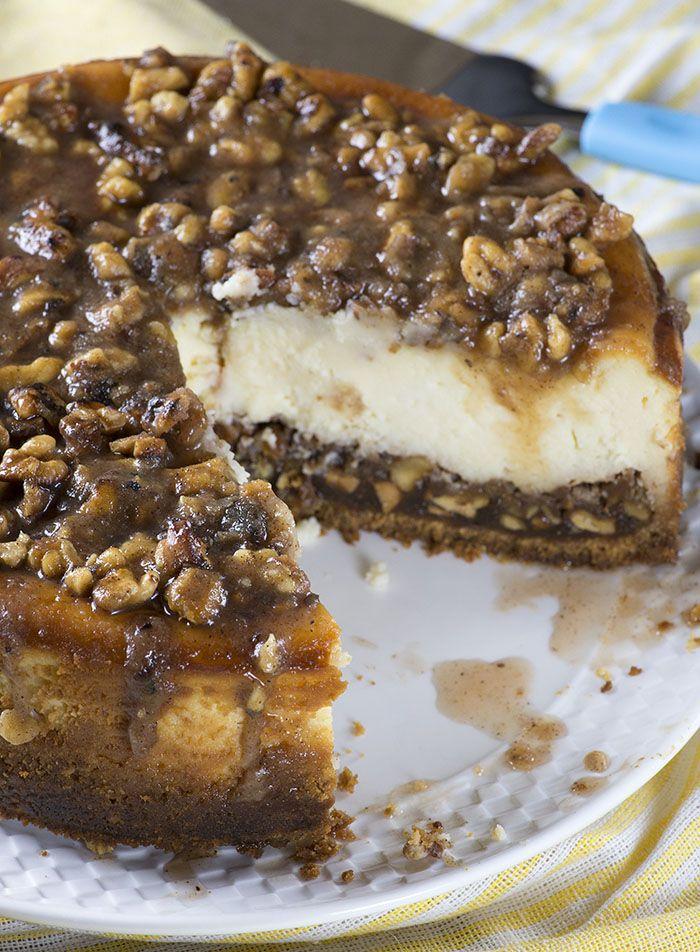 Pecan Pie Cheesecake #thanksgivingfood