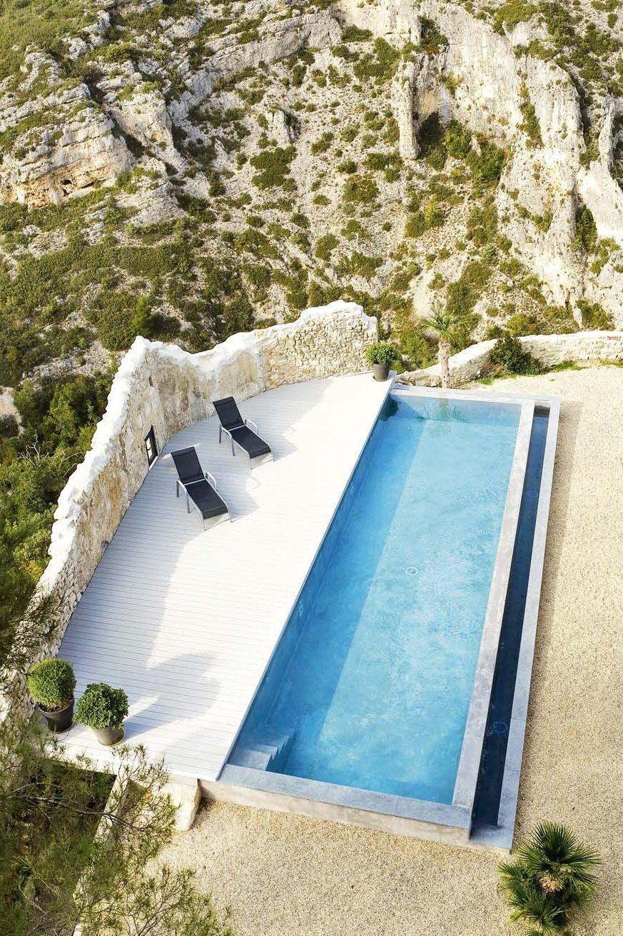 Les piscines couloirs de nage et bassins piscinas for Maison hote methamis