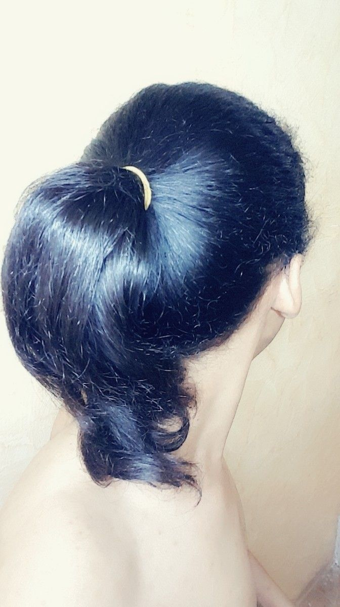 تسريحة شعر hair style hairstyle tie tied hair pinterest