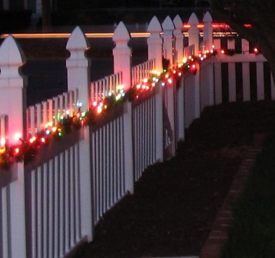 fence holiday decoration - Yahoo Image Search Results ...