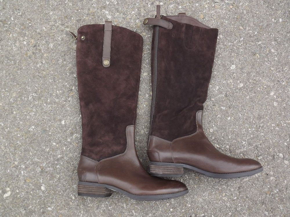 bef3598c1a9 Sam Edelman Pembrooke Riding Brown Boot Size 7.5 NEW | Boots ...