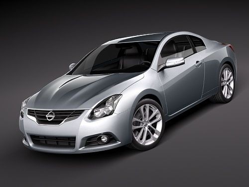 This one has been my baby for year. the nissan altima coupe in dark slate