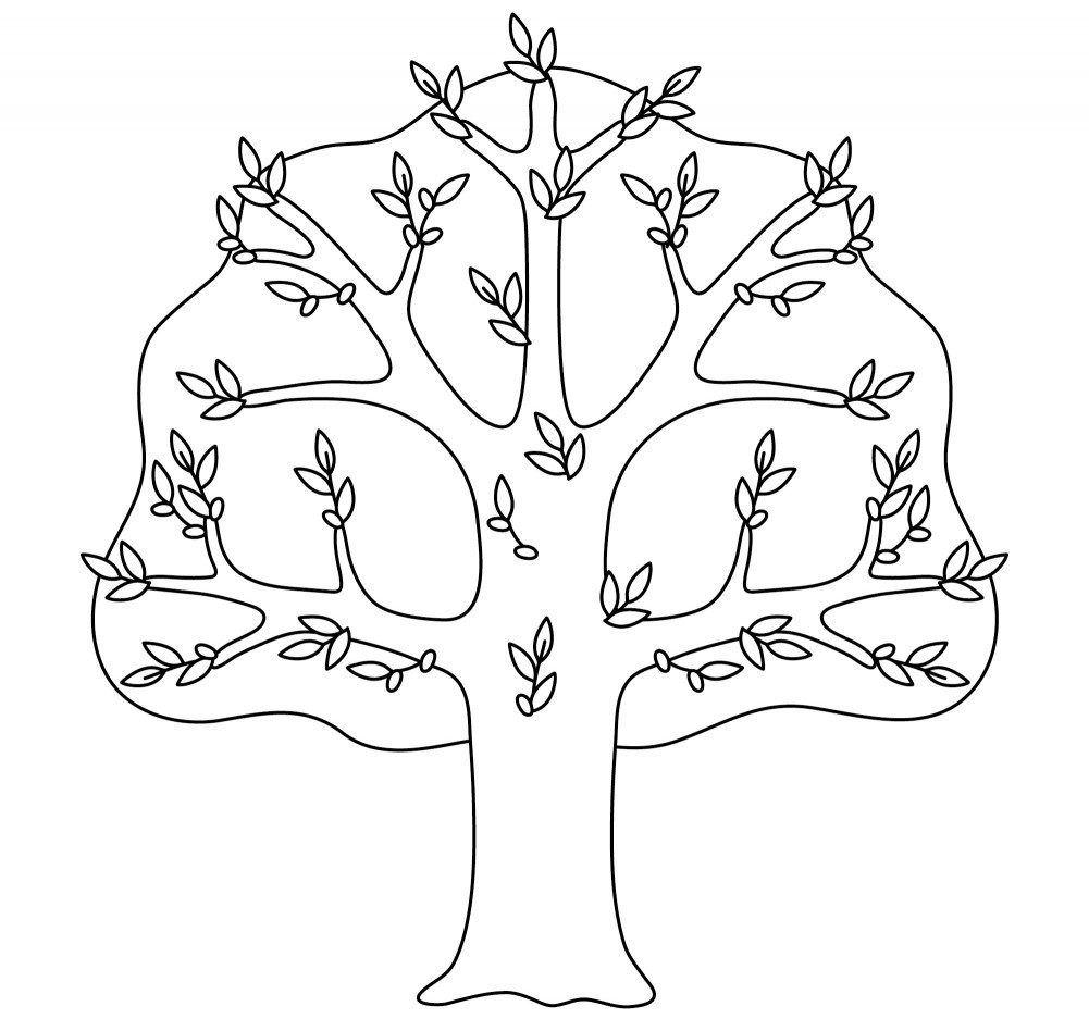 Baum Malvorlage 19 e19 #coloring #coloringpages