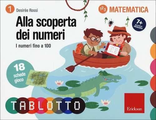 Prezzi e Sconti: Alla #scoperta dei numeri. i numeri fino a 100 New  ad Euro 6.90 in #Erickson #Libri
