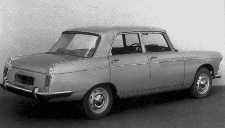 Og 1960 Peugeot 404 Facelift Design Proposal With Coupé