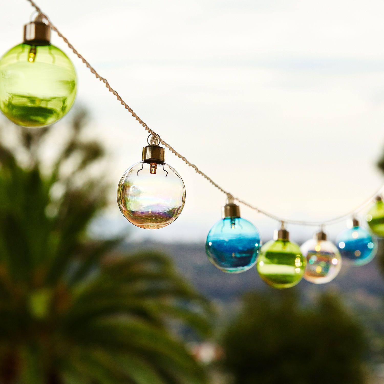 20 10 lights 10 5 long sea glass string lights pier 1 imports