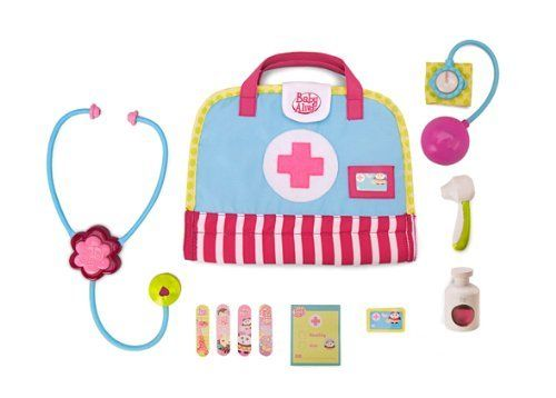 Baby Alive Get Well Kit By Hasbro 24 99 Use With All Your Baby Alive Dolls Listen To Your Baby S Heartbeat W Baby Alive Baby Alive Dolls Baby Toddler Toys