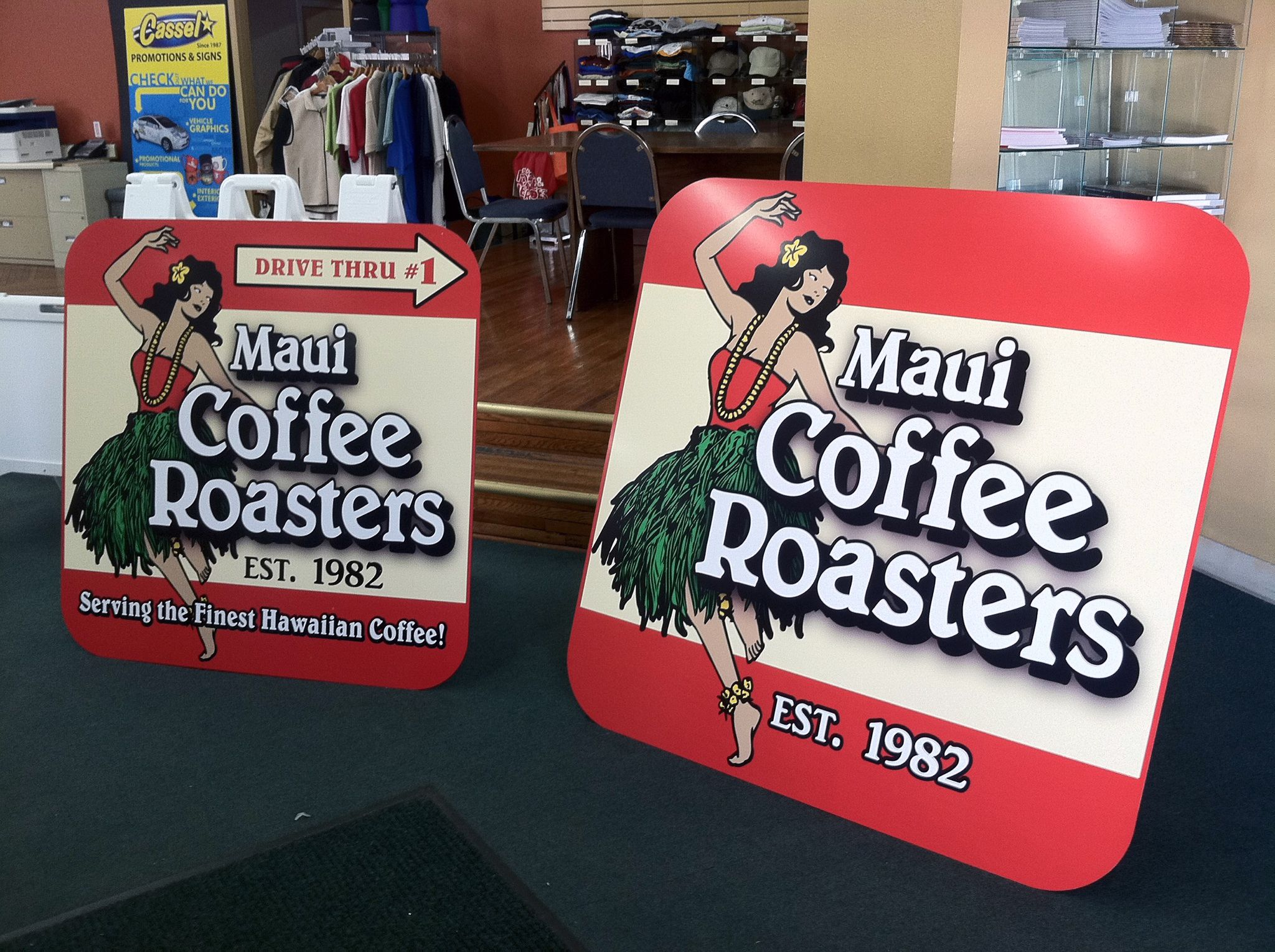Maui Coffee Roasters New Signs Hawaiian coffee, Coffee