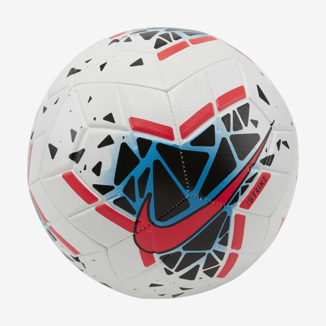 Nike Strike Soccer Ball White In 2020 Soccer Ball Soccer Football