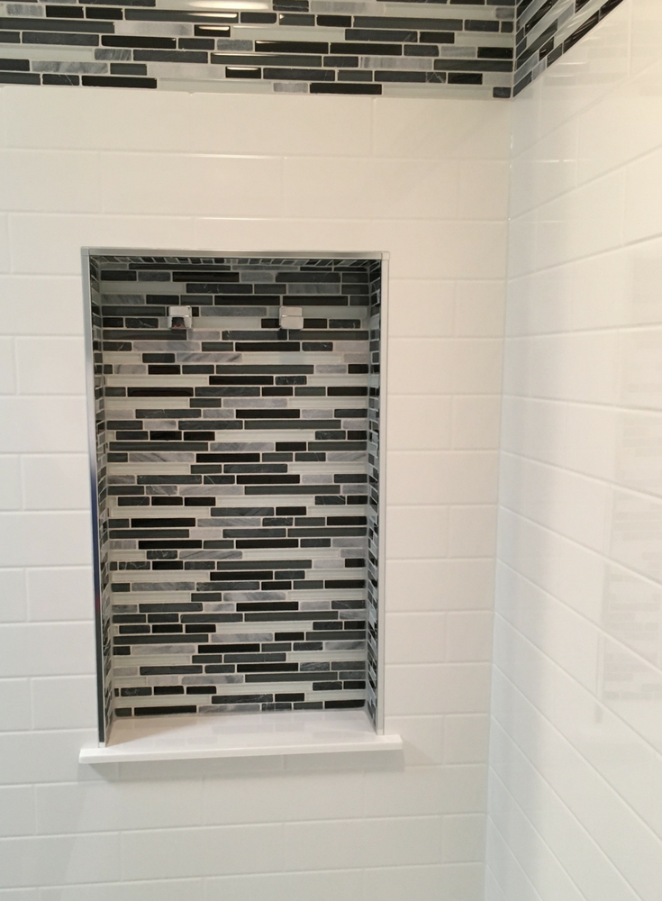 7 tricks to turn your tub into an amazing walk in shower   Subway ...