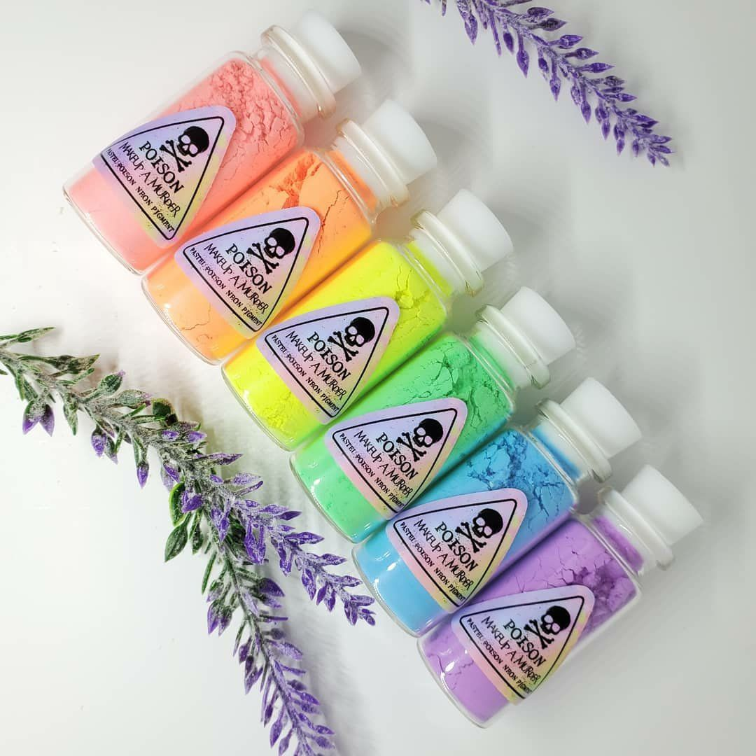 Pastel Poison Neon Pigments in 2020 Loose pigments