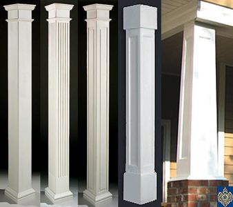 Image result for architecture square pillars shades for Fiberglass interior columns