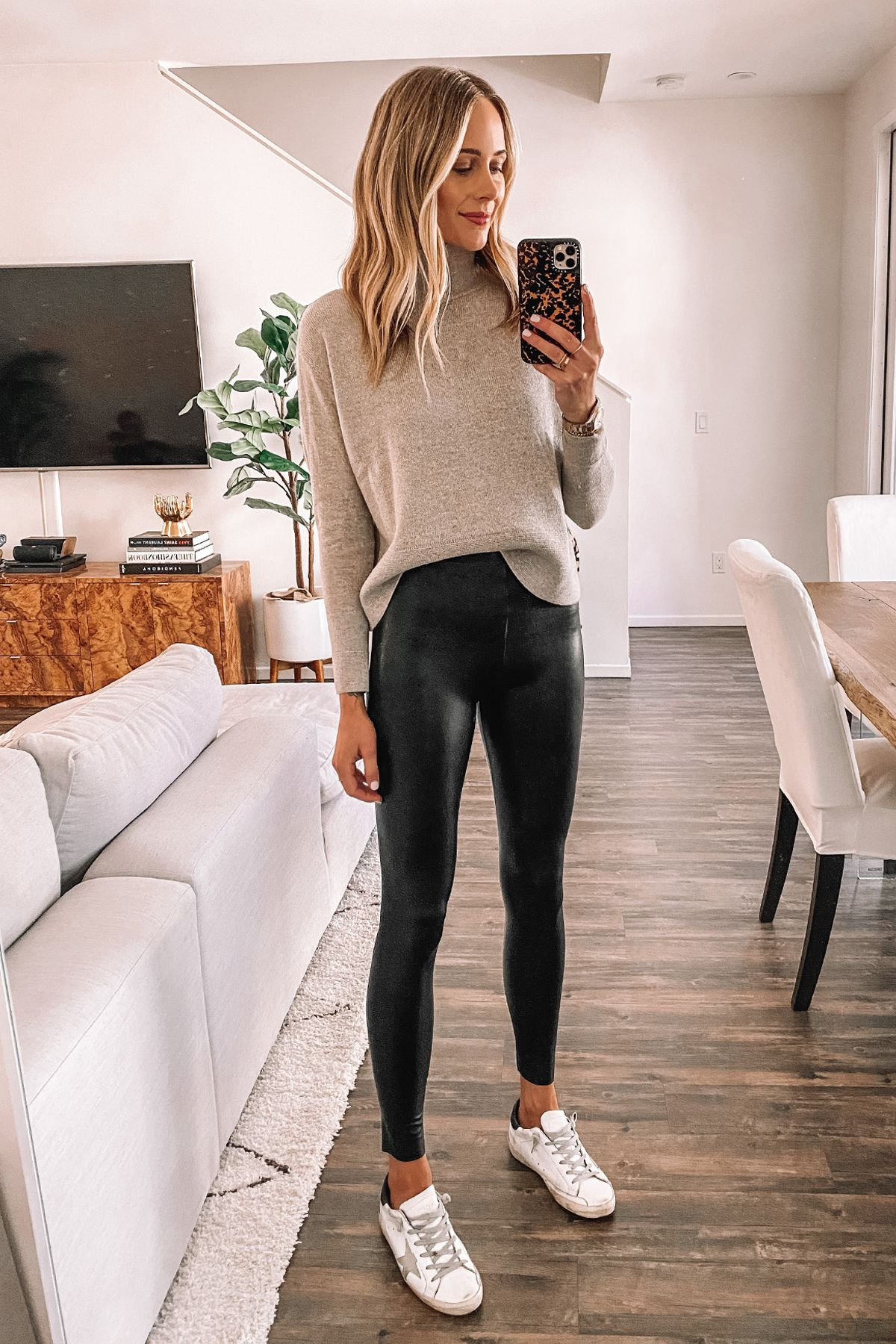 Spanx Vs Commando: Faux Leather Leggings Review & Comparison | Fashion Jackson