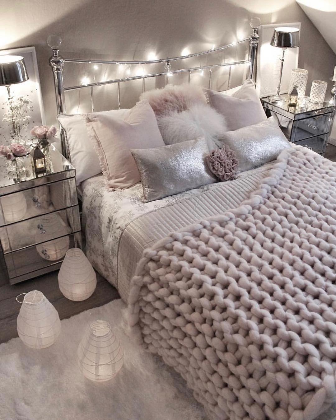 Kuscheliges Schlafzimmer Hyge Stil Zimmer Einrichten Zimmer