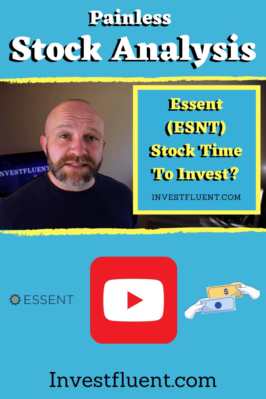 [Youtube Video] Essent Stock Analysis