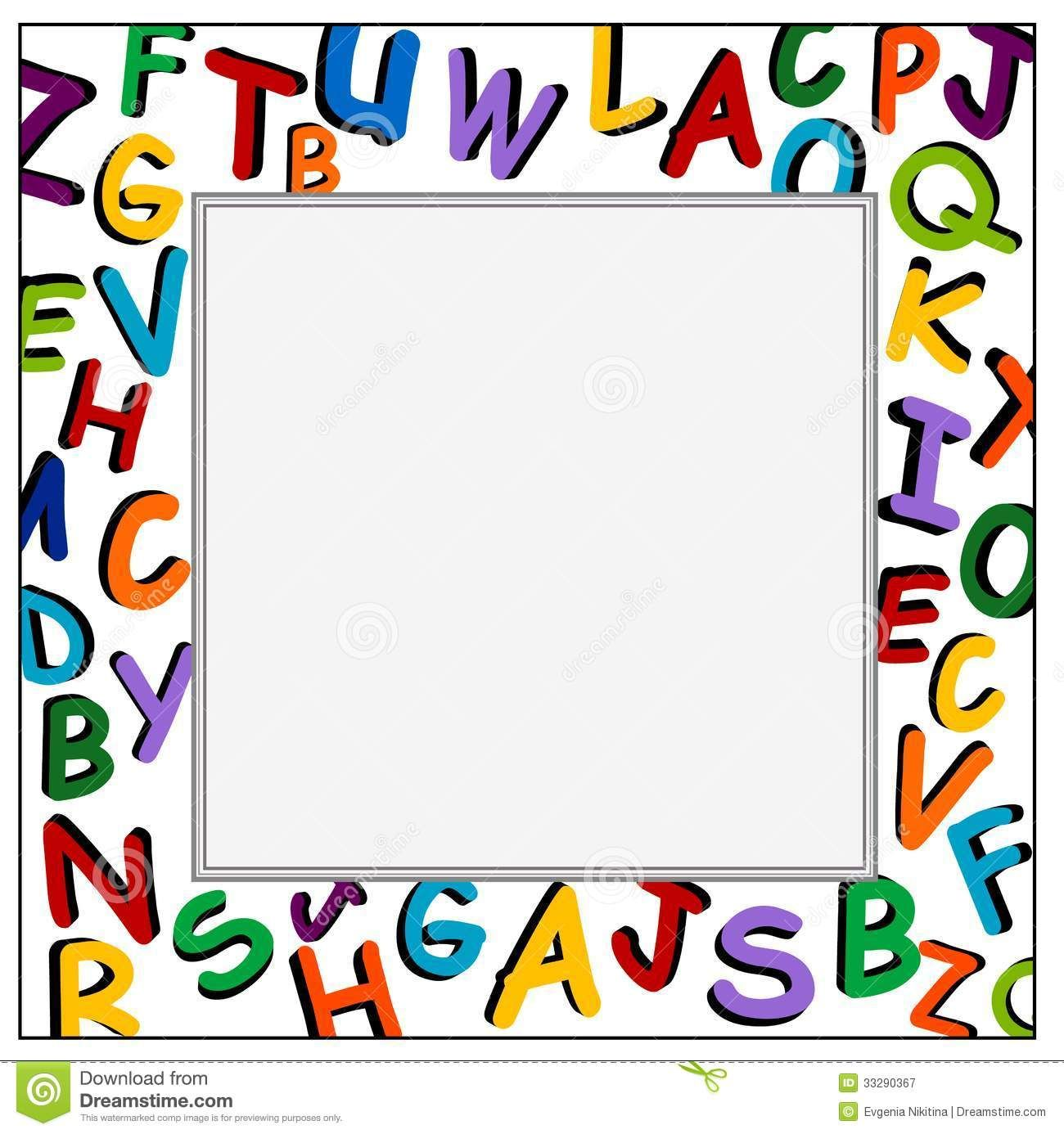 Free Ppt And Clipart Frames For Worksheets