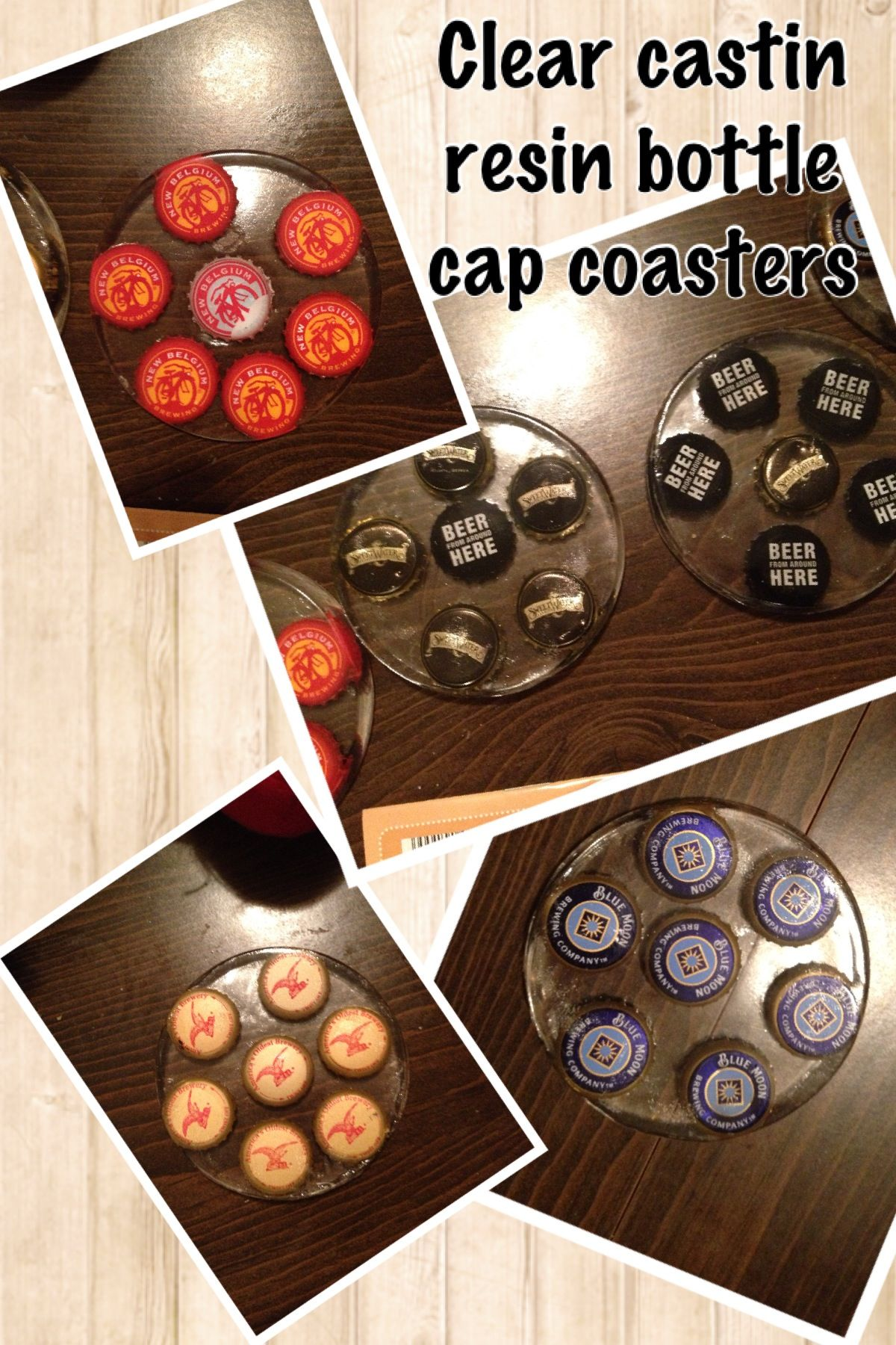 My diy clear resin coasters you need a flexible silicone