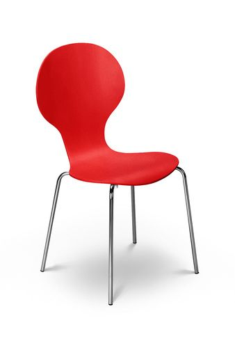 Keeler Chair Tomato Red Dining Chairs Black Dining Chairs