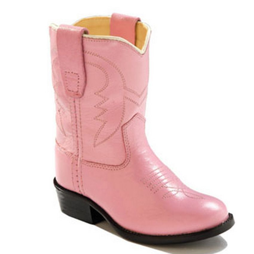 Details about NIB Old West Toddler Girl Pink Western Cowboy Boots ...