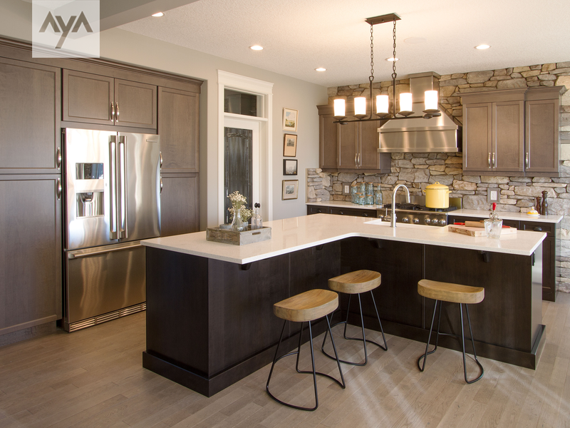 Aya Kitchens Canadian Kitchen And Bath Cabinetry Manufacturer Design Professionals Camden Barley Maple In Transitional