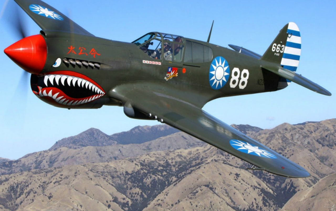 Curtiss P 40 Warhawk Wallpapers