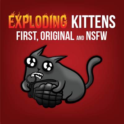 Exploding Kittens How To Play Exploding Kittens And Imploding Kittens And Streaking Kittens Exploding Kittens Kittens Play