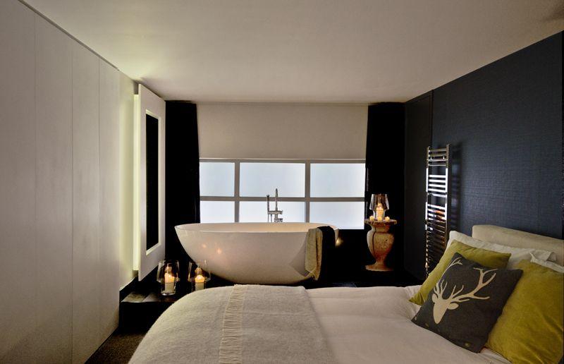 Shoreditch Loft seductive bedroom-bath by Magnus ...
