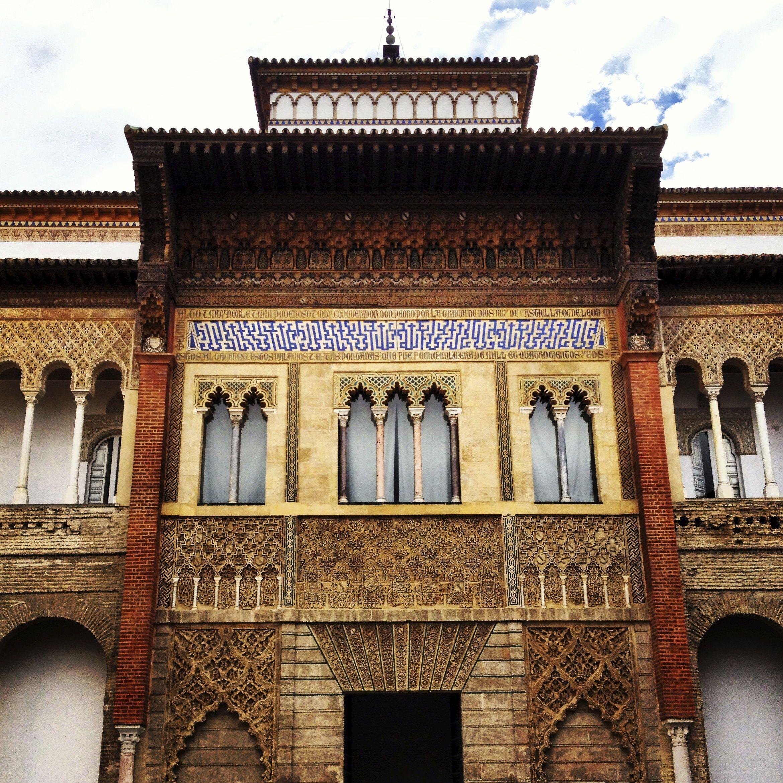 En Sevilla, en los Reales Alcázares.. ..El Palacio Pedro I