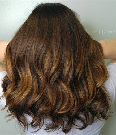 Balayage for Low Maintenance Auburn Highlights - Hair Color - Modern Salon