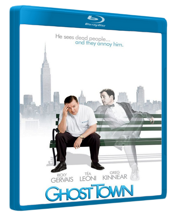 Ghost Town (2008) Hindi Dubbed [BRRip] Ghost town movie