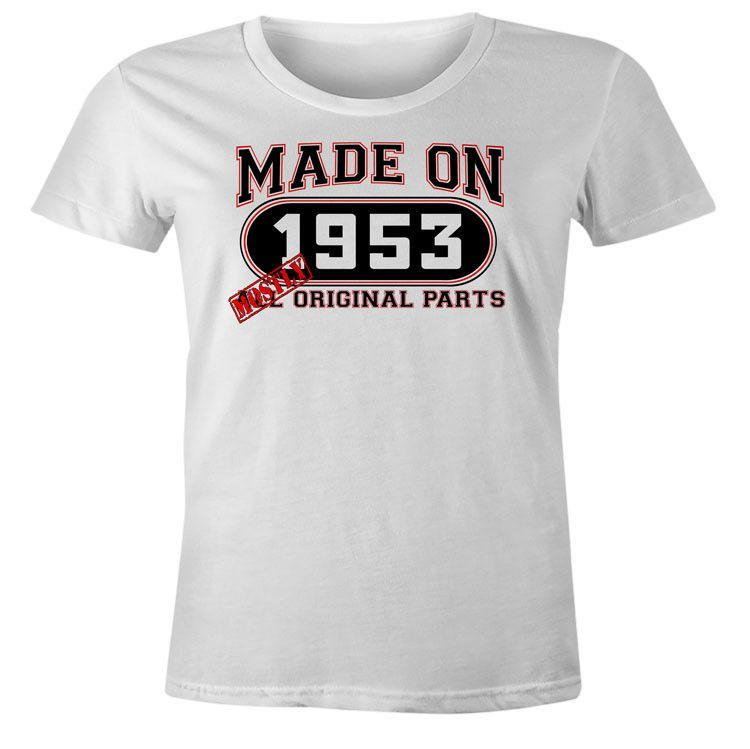 Womens 63rd Birthday T-Shirt